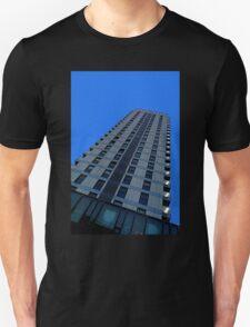 Pop art city skyline Unisex T-Shirt