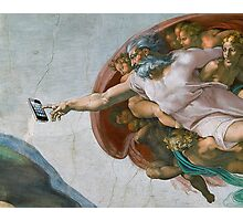 The Creation of Candycrush Photographic Print