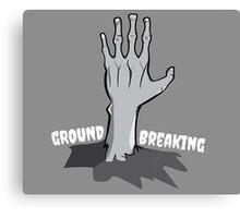 Ground Breaking Canvas Print