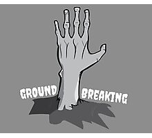 Ground Breaking Photographic Print