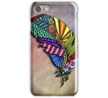 Feather Zentangle  iPhone Case/Skin