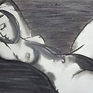 Reclining 3 - Female Nude by CarmenT