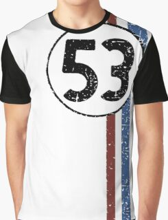 Herbie (Love Bug) #53 Graphic T-Shirt