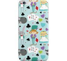 Alice and Friends - Pattern iPhone Case/Skin
