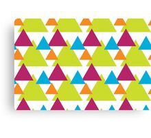 Vector Triangles  Canvas Print