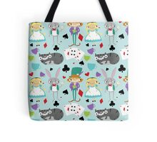 Alice and Friends - Pattern Tote Bag