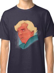 Benedict Cumberbatch Portrait Painting Classic T-Shirt
