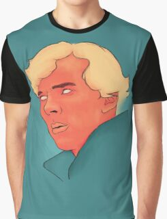 Benedict Cumberbatch Portrait Painting Graphic T-Shirt