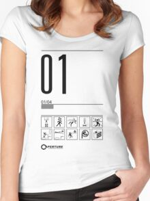 Level 01 Women's Fitted Scoop T-Shirt