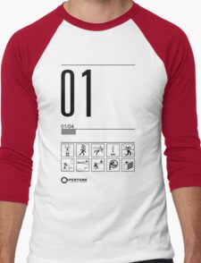 Level 01 Men's Baseball ¾ T-Shirt