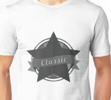 Vintage star with ribbon Unisex T-Shirt