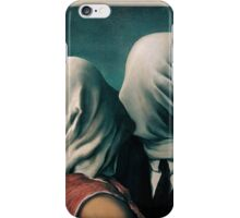The Lovers, Les Amants - Magritte iPhone Case/Skin
