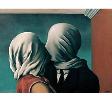 The Lovers, Les Amants - Magritte Photographic Print