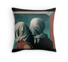 The Lovers, Les Amants - Magritte Throw Pillow