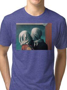 The Lovers, Les Amants - Magritte Tri-blend T-Shirt