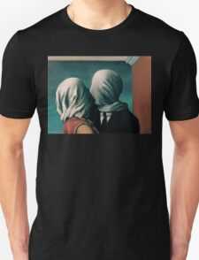 The Lovers, Les Amants - Magritte T-Shirt