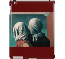The Lovers, Les Amants - Magritte iPad Case/Skin
