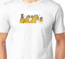 Fjord horses design  Unisex T-Shirt