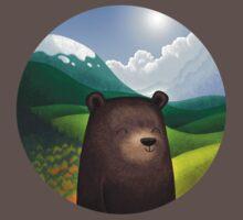 Cute bear in the wilderness One Piece - Short Sleeve