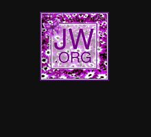 JW.ORG With Purple Daisies Womens Fitted T-Shirt