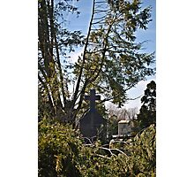 Cemetery Cross Photographic Print