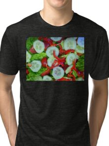 Healthy Food Tri-blend T-Shirt