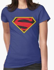Action Comics Womens Fitted T-Shirt