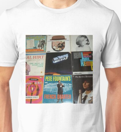 Vintage Records Collection 1F Unisex T-Shirt