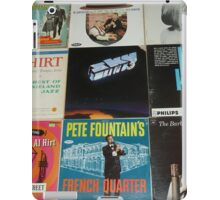 Vintage Records Collection 1F iPad Case/Skin