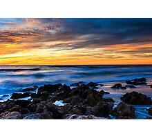 Beach Sunset Florida Photographic Print