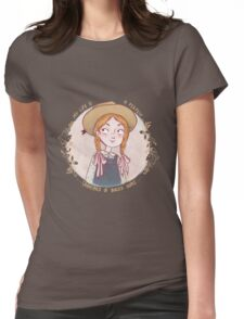 Anne of Green Gables Womens Fitted T-Shirt