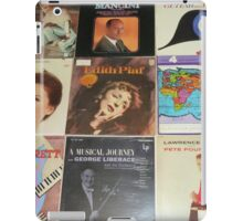 Vintage Records Collection 1G iPad Case/Skin