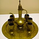 Brass coffee set by Shulie1