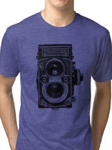 Rolleiflex 2.8 F - Model K7F Tri-blend T-Shirt