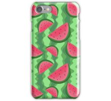 Watermelon Slice Pattern iPhone Case/Skin