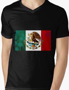 MEXICO Mens V-Neck T-Shirt