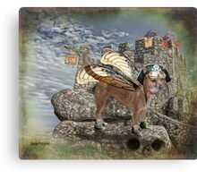 Game of Bones Canvas Print