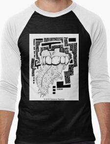 Chant The Sacred Words Men's Baseball ¾ T-Shirt