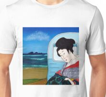The Hokusai Family Holiday, Day 5 Unisex T-Shirt