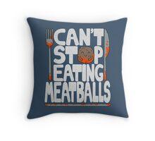 Meatballs Throw Pillow