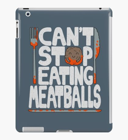 Meatballs iPad Case/Skin