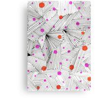 Precious Print Pattern Design Canvas Print