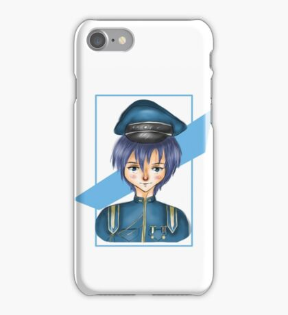 Kaito Vocaloid - Senbonzakura Outfit iPhone Case/Skin