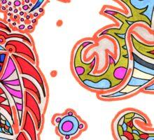 Orengi Print Pattern Design Sticker