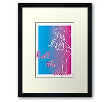 Roll the dice Framed Print