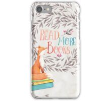 Read More Books - Fox iPhone Case/Skin