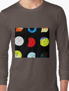 Original Retro Vinyl Records Long Sleeve T-Shirt