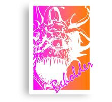 80's Beholder Canvas Print
