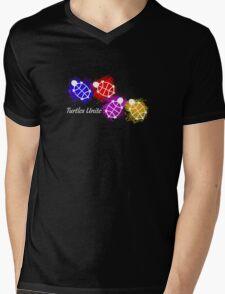 Turtles Unite - Artist Manda Mens V-Neck T-Shirt