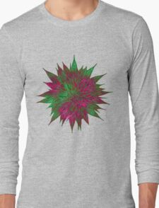 Razzle Dazzle Flower Long Sleeve T-Shirt
